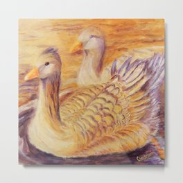 Duo of tenderness | Duo de tendresse Metal Print