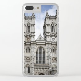 Westminster Abbey Clear iPhone Case