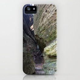 Stairs Among the Rocks iPhone Case