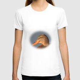 Female Duck Portrait T-shirt