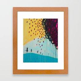 Sunshine Dance Framed Art Print