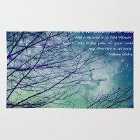 poem Area & Throw Rugs featuring Favorite Poem... by Julia Kovtunyak
