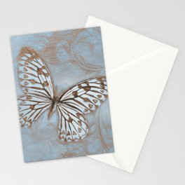 Blue Butterfly Spring Stationery Cards