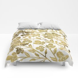 Cherry Blossoms – Gold Palette Comforters