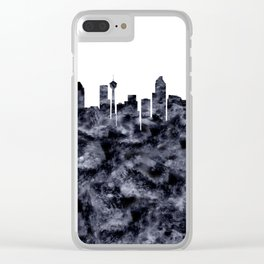 Calgary Clear iPhone Case