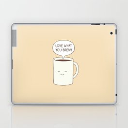 Love what you brew Laptop & iPad Skin