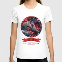 league of legends T-shirts featuring League Of Legends - Nocturne by TheDrawingDuo