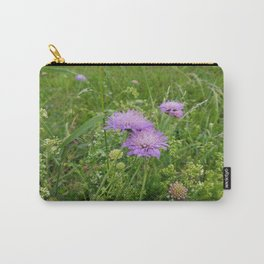 Alpine Flowers Carry-All Pouch