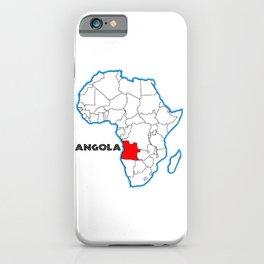 Angola iPhone Case