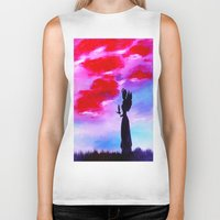 astrology Biker Tanks featuring The Astrology  sign VIRGO by Krista May