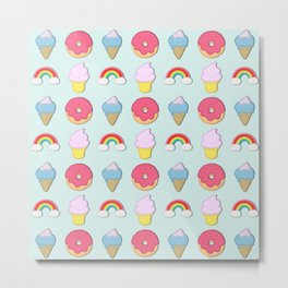 Happy Candyland Metal Print