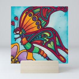 Butterfly Kiss Mini Art Print