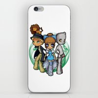 oz iPhone & iPod Skins featuring Oz  by Mickey Spectrum