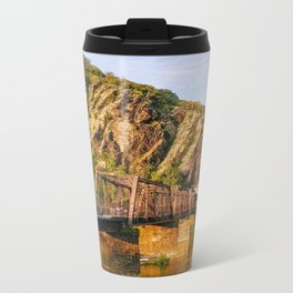 Majestic mountains (Harper's Ferry, WV) Metal Travel Mug