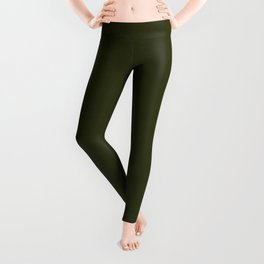 Dark olive textured. 2 Leggings