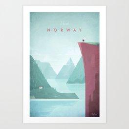Norway Art Print