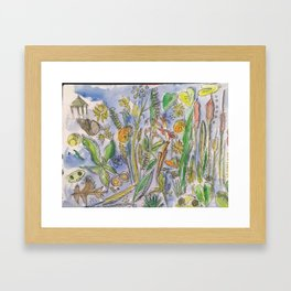 Pondlife Framed Art Print