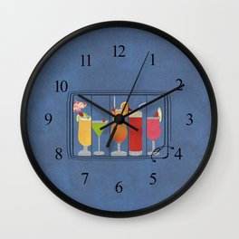 Fruit Drinks Wall Clock