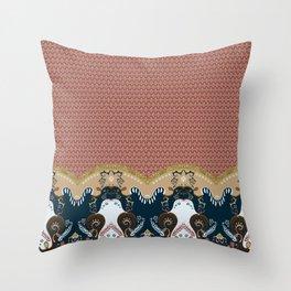 ss16 /// Handmade Arabesque III Throw Pillow