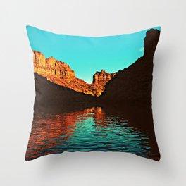 Deep Reflections Throw Pillow