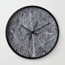 Cracks in the ice  Wall Clock