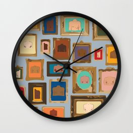 Framed Art/Body Parts (Breasts, Chest, and the Rest) Wall Clock