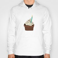 cake Hoodies featuring Cake by elyinspira