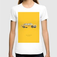 taxi driver T-shirts featuring Taxi Driver  | Famous Cars by Fred Birchal