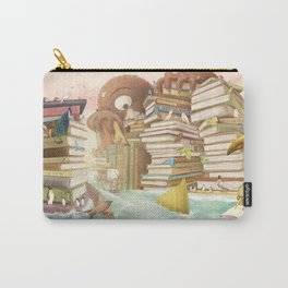 The Library Islands Carry-All Pouch