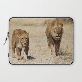 Duo Infernale, Africa wildlife Laptop Sleeve