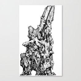 clandestine howling Canvas Print