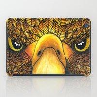 phoenix iPad Cases featuring Phoenix by J Bradford Illustration