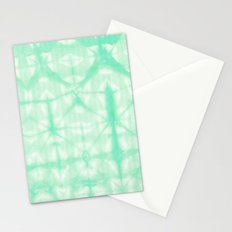 Tie Dye 2 Mint Stationery Cards