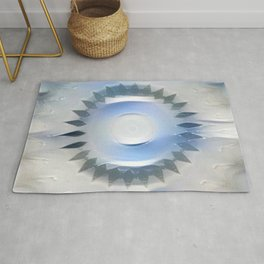 Ice Marble Remnant Rug