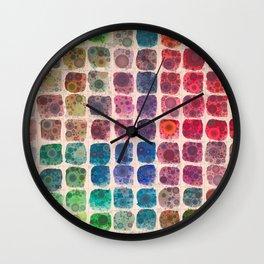 Paintbox Dreams Wall Clock