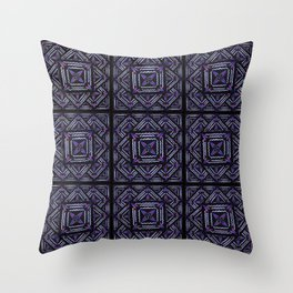 the purls  Throw Pillow