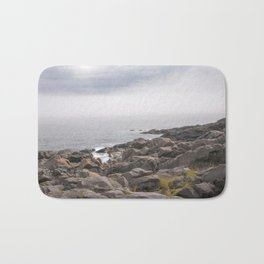 up the southern shore Bath Mat