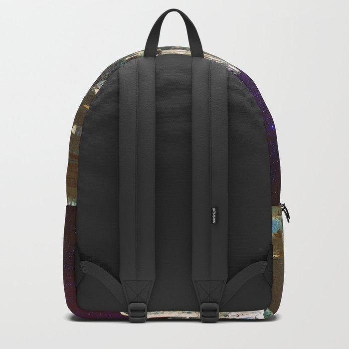 wolf moon nigth Backpack