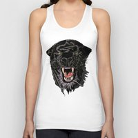 panther Tank Tops featuring Panther by Tish