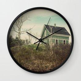 The Green Farmhouse Wall Clock