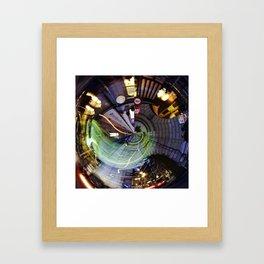 Large Hadron Collider in Bern Framed Art Print