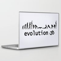 evolution Laptop & iPad Skins featuring evolution by Maria Durgarian