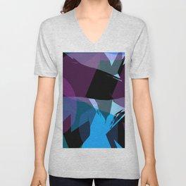 Transparent cool colors Unisex V-Neck