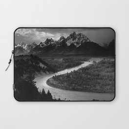 Ansel Adams - The Tetons and Snake River Laptop Sleeve