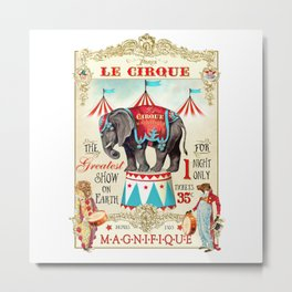 The Circus is in town Metal Print