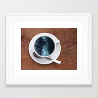 witchoria Framed Art Prints featuring Mourning Morning.  by witchoria