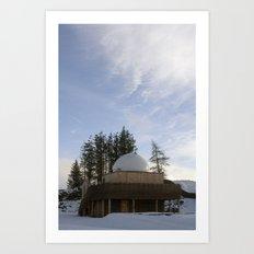 Scottish Dark Sky Observatory Art Print