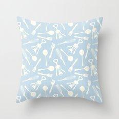 Utensils 2 Throw Pillow