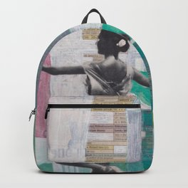 We Watched Ballet on TV Backpack