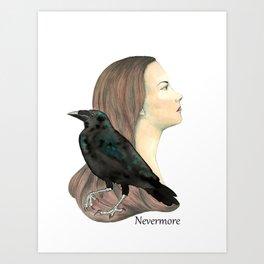 Nevermore Art Print